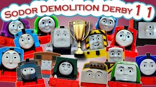 getlinkyoutube.com-Sodor Demolition Derby 11 | Thomas and Friends Trackmaster | Last Engine Standing