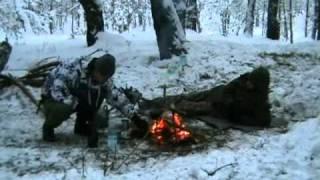 getlinkyoutube.com-Zimowy biwak Akicita - Grudzień 2010