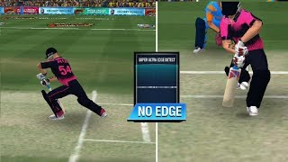 Ultra Edge For LBW review WCC2| NEW DRS IN WCC2| NEW UPDATE