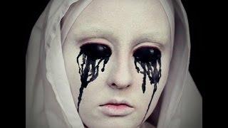 getlinkyoutube.com-White Nun Makeup Tutorial- American Horror Story (Asylum) No Contacts!