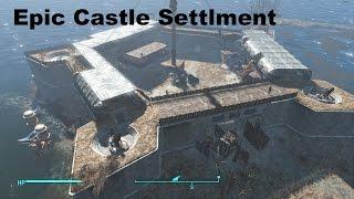 getlinkyoutube.com-Fallout 4 Castle base 2.0