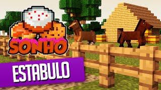 getlinkyoutube.com-Minecraft : O Sonho! #80 - Casa dos Cavalos!