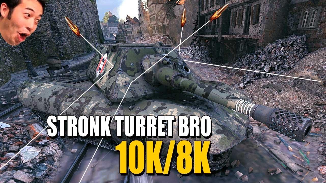 E 100: Strong turret bro!