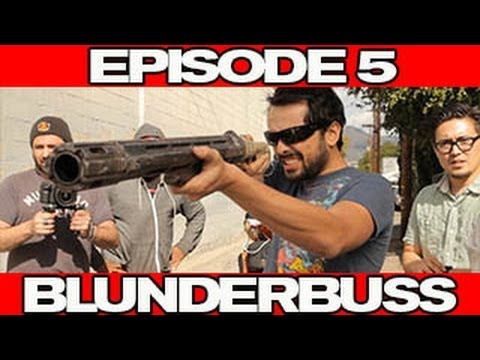 MysteryGuitarMan Makes Looper's BLUNDERBUSS GUN