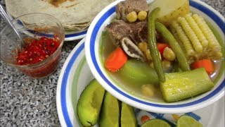 getlinkyoutube.com-CALDO DE RES | Vicky Receta Facil