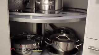 Szafka narożna z karuzelą - meble kuchenne Nolte