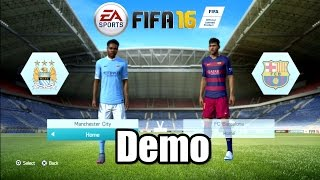 getlinkyoutube.com-FIFA 16 Demo Manchester City vs Fc Barcelona PS3 HD