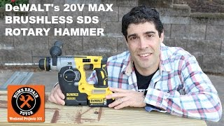 getlinkyoutube.com-DRILL through ANYTHING...DeWALT's 20V Max SDS Rotary Hammer Kit