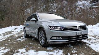 getlinkyoutube.com-VW Passat 2015 2.0 BiTDI (240 hp) | Details and Driving