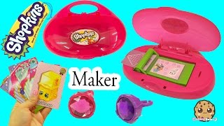 getlinkyoutube.com-Shopkins Do It Yourself Cool Cardz Card Maker Machine with Stamp + Marker - Cookieswirlc