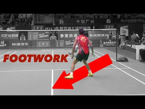 LIN DAN'S Legendary FOOTWORK : Forehand anticipation