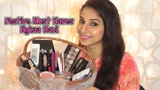 getlinkyoutube.com-Nykaa Diwali Sale Haul | Festive Must Haves