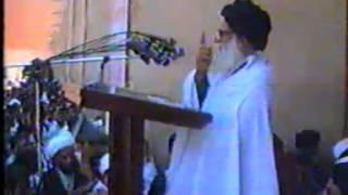 السيد محمد محمد صادق الصدر  قدس سره )  يتكلم عن تقبيل اليد في خطبة الجمعة التاسعة عشر