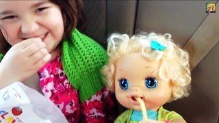 "getlinkyoutube.com-Adopting ""My Baby Alive"" Doll,  Aleasha ❤️"