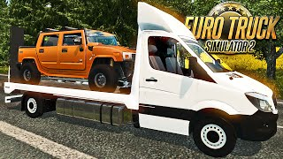 getlinkyoutube.com-Guincho da Mercedes Benz - Euro Truck 2
