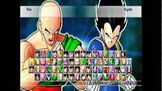 getlinkyoutube.com-Dragon Ball Raging Blast 2 - Todos os personagens