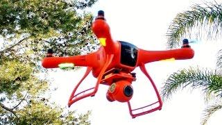 getlinkyoutube.com-Wingsland Scarlet Minivet FPV Drone - REVIEW
