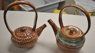 getlinkyoutube.com-How to throw and trim a teapot, two types of lids, and a spout with assembly on the potter's wheel