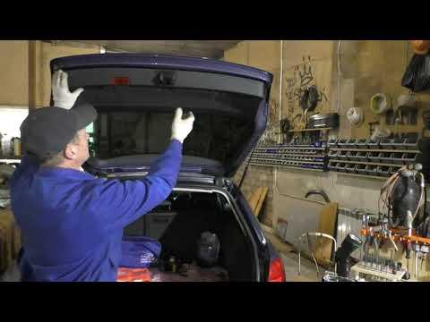 AUDI A4 B7 Разборка двери багажника
