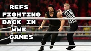 When Referees Fight Back In WWE Games