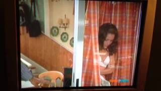 getlinkyoutube.com-Angie Lopez/ Constance Marie in a bra!