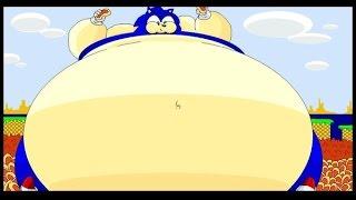 getlinkyoutube.com-[Até o fim] O ouriço mais gordo do mundo / Sonic the Hedgehog 2 XL