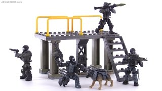 getlinkyoutube.com-Mega Bloks Call of Duty Ghosts - Covert Ops Unit review