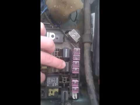 Не работает ближний и дальний свет фар сразу на Ланос Шевроле