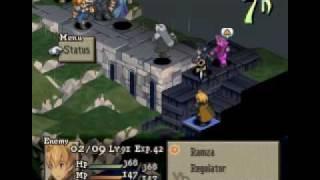 getlinkyoutube.com-Final Fantasy Tactics - Cloud vs Sephiroth 1/2