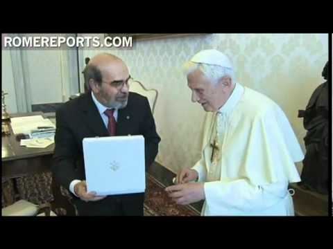 Pope meets FAO's Director  Jose Graziano da Silva  to discuss fight against world hunger