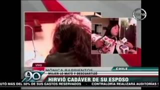 getlinkyoutube.com-Chile | Mujer mata, descuartiza y Cocina a su esposo VIDEO ORIGINAL HD