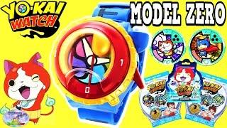 getlinkyoutube.com-Yokai Watch Yo Motion Model Zero Watch Blind Bags Hanger Surprise Egg and Toy Collector SETC