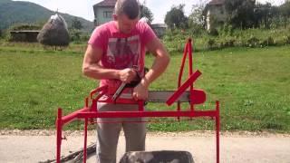 getlinkyoutube.com-Rezanje drva na bosanski