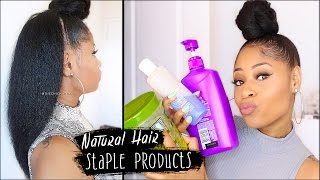 getlinkyoutube.com-MY STAPLE PRODUCTS for NATURAL HAIR! (everything I use for healthy hair)