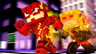 getlinkyoutube.com-Minecraft : FLASH vs REVERSE FLASH  - (Vida de Herói #7)