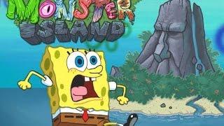 getlinkyoutube.com-Spongebob Squarepants Monster Island - Cartoon Movie Game - New Spongebob Squarepants