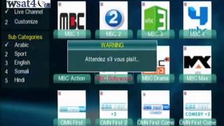 getlinkyoutube.com-echolink Open Vu3 iptv chanel شرح اضافة وتشغيل قنوات ابي تفي للاكولينك 3