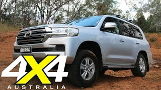 getlinkyoutube.com-Toyota Land Cruiser 200 Series | Road test | 4X4 Australia