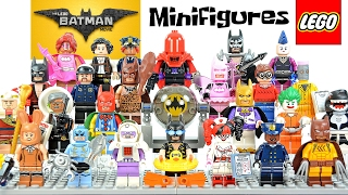 getlinkyoutube.com-The LEGO® Batman Movie Minifigure Series plus Accessory Set w/ Disco Batman & Tears of Batman 30607