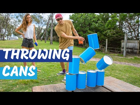 Formula Sports Throwing Cans