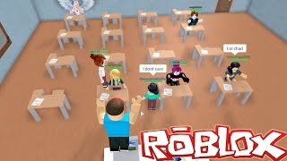 getlinkyoutube.com-Roblox / Roblox High School / Let's Cut Class! / Gamer Chad Plays