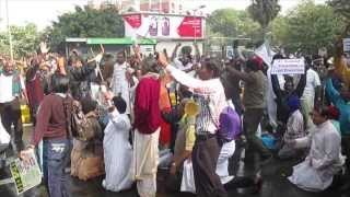 National Protest for Dalit Christians 2013