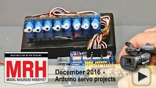 getlinkyoutube.com-Arduino servo projects demo   Model railroad tips   Model Railroad Hobbyist   MRH