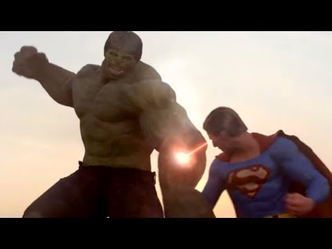 Superman vs Hulk - The Fight (Part 2) -CDBNB2hk5t0