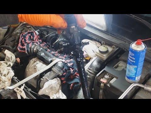 Замена уплотнителей форсунки Peugeot 1.6 Hdi