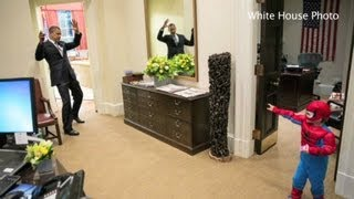 Funny moments from Obama's 1st term