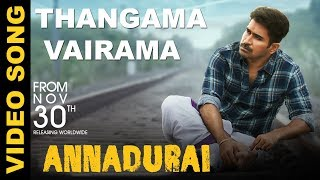 ANNADURAI - Thangama Vairama Song Video   Vijay Antony   Radikaa Sarathkumar   Fatima Vijay Antony