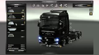 Euro Truck Simulator 2 Truck tuning part 4 MAN TGX XXL