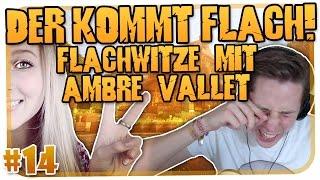 DER KOMMT FLACH #14 - FLACHWITZE MIT AMBRE VALLET [MINECRAFT] [HD]