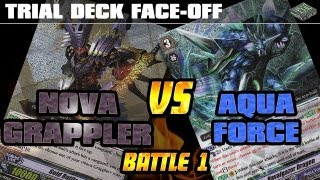 Trial Deck Face-off! Nova Grappler vs Aqua Force -Game 1